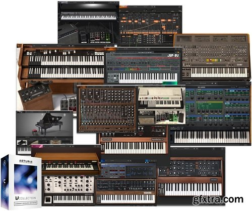 Arturia Keyboards & Piano V Collection 2021.7 R2