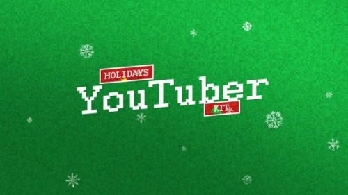 Videohive - YouTuber Kit | Holidays Edition