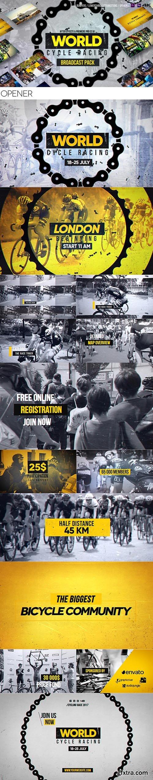 Videohive - World Cycling Marathon Pack - 20086604