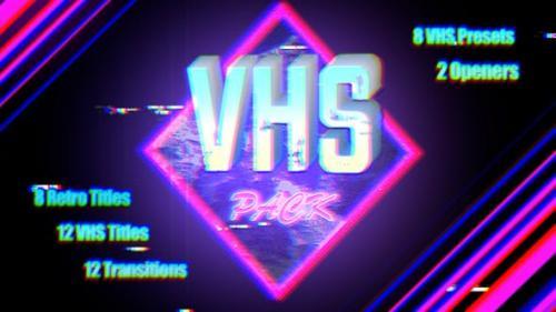 Videohive - VHS Pack   Final Cut