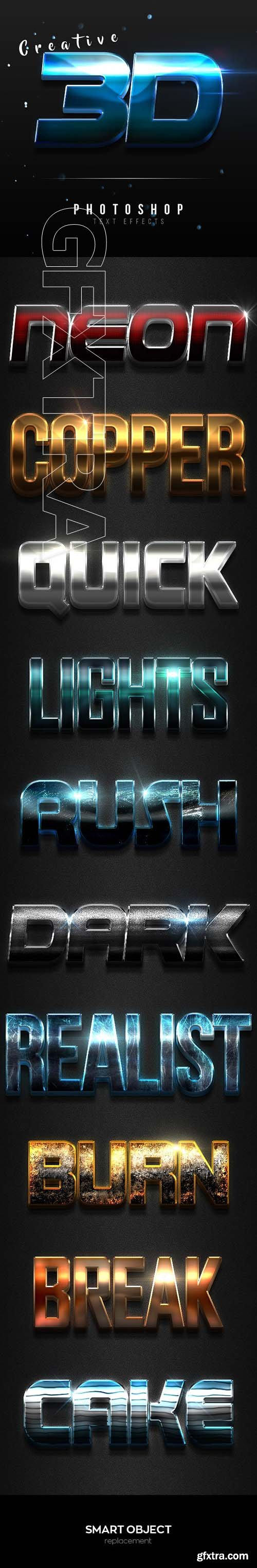 GraphicRiver - Creative 3D Text Effects Vol.4 24781044