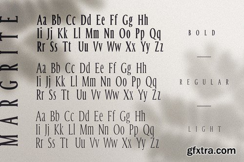 CM - Margrite - Tall Serif Font Family 4285075