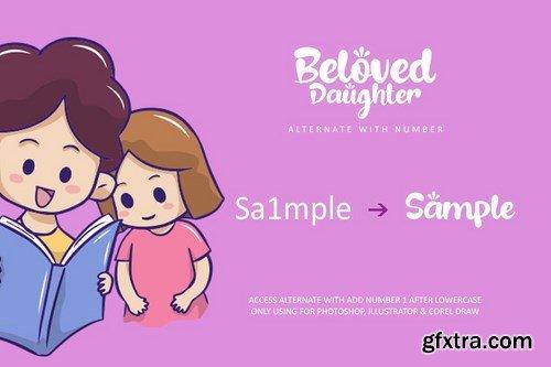 Beloved Daughter Font
