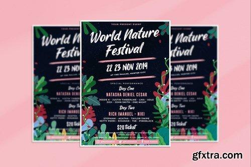 Natur Festival Flyer