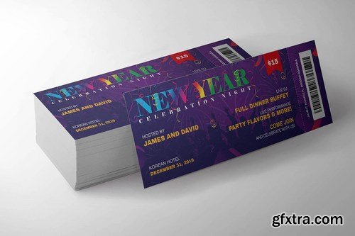 New Year Event Ticket Pro