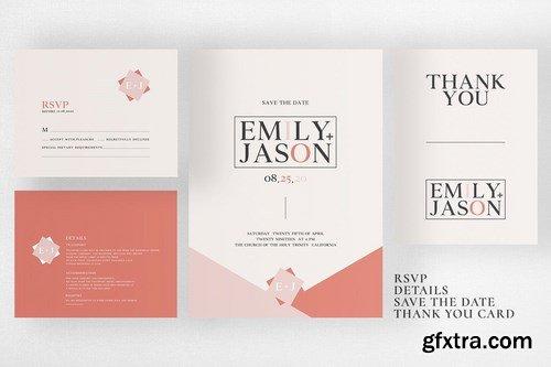 Wedding Invitation Suite - Emily