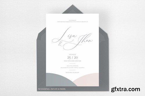 Wedding Invitation Suite - Lisa