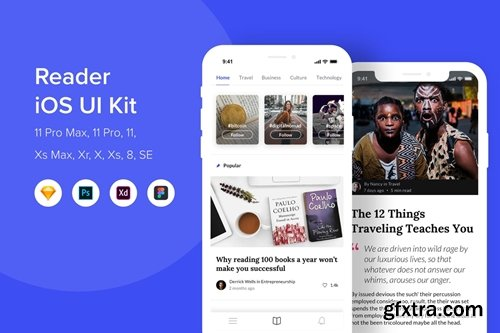 Reader iOS UI Kit