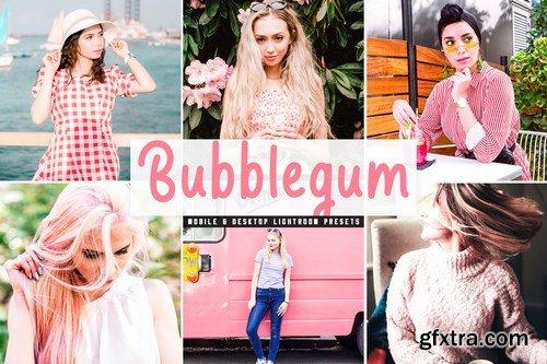 Bubblegum Mobile & Desktop Lightroom Presets