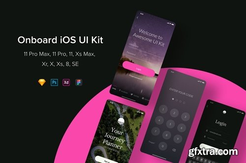 Onboard iOS UI Kit