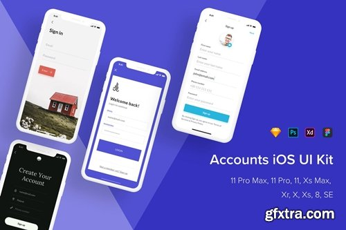 Accounts iOS UI Kit