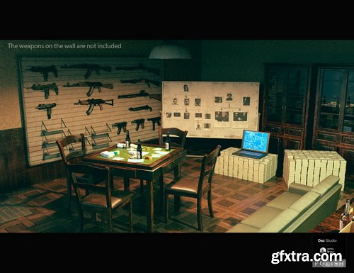 Daz3D - Mafia Evironment Bundle