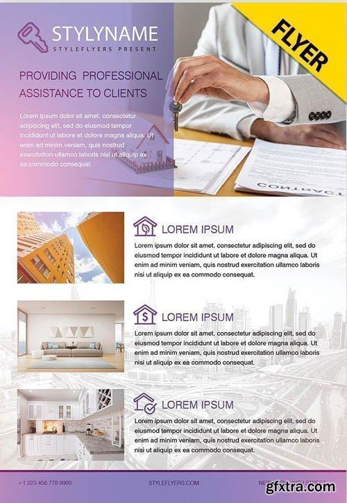 Real Estate V0911 2019 PSD Flyer Template
