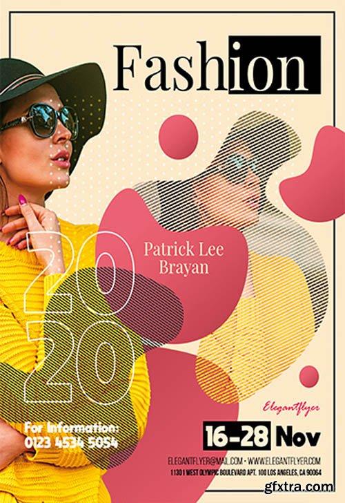 Fashion 2020 V0911 2019 PSD Flyer Template