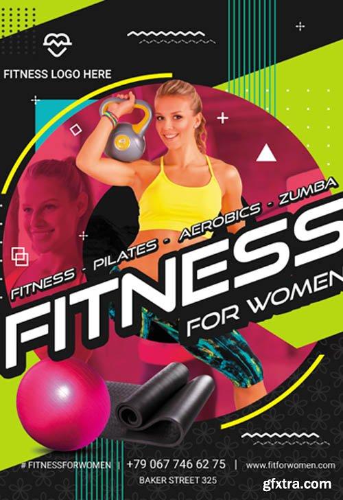 Fitness V0911 2019 Premium PSD Flyer Template