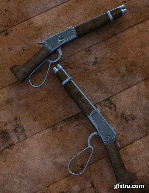 Daz3D - Old West Firearms Vol 2