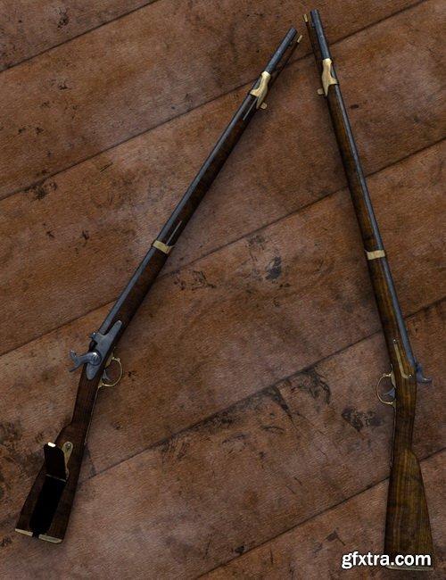 Daz3D - Old West Firearms Vol 3