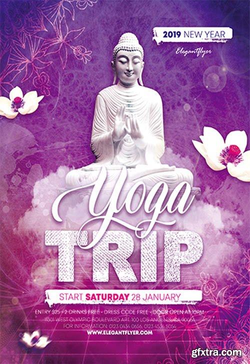 Yoga Trip V0911 2019 Premium PSD Flyer Template