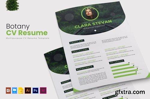 Botany   CV & Resume