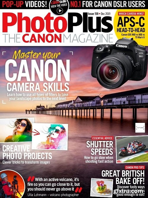PhotoPlus: The Canon Magazine - Issue 159, December 2019