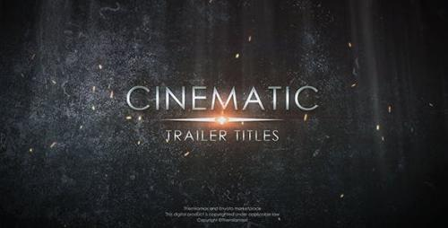 Videohive - Cinematic Trailer Titles