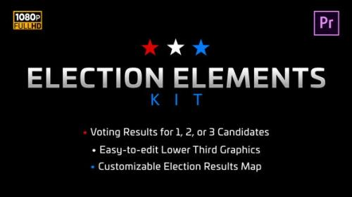 Videohive - Election Elements Kit | MOGRT for Premiere Pro