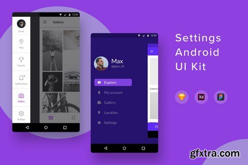 Settings Android UI Kit