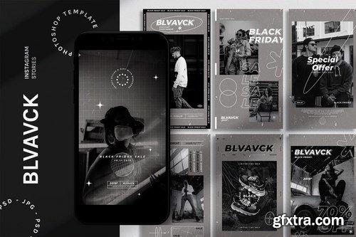BLVAVCK - Instagram Stories Template