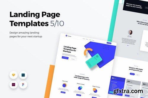 Landing Page Templates - Web UI Kit - 5