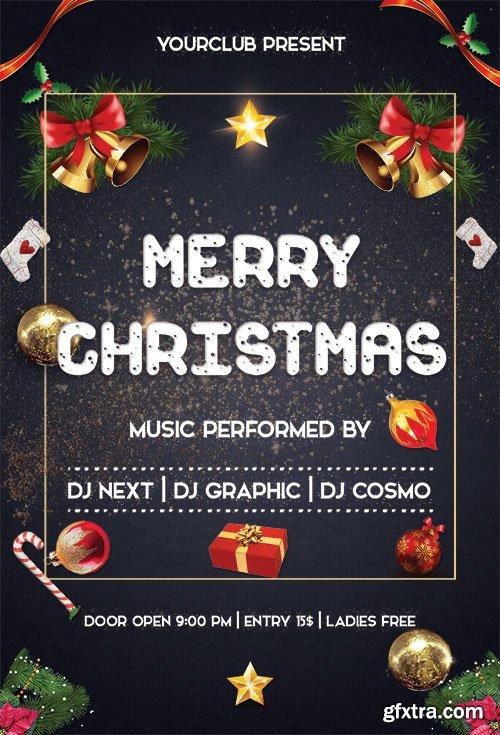 Merry Christmas - Premium flyer psd template