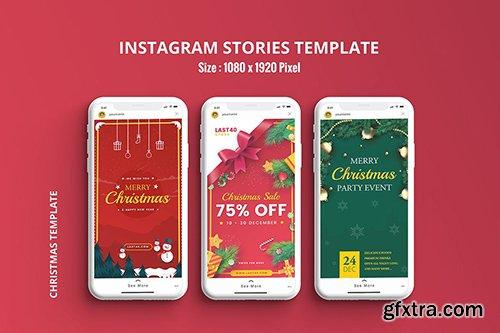 Christmas Instagram Stories Template