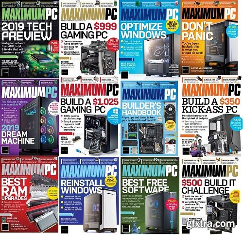Maximum PC - Full year Issues Collection 2019