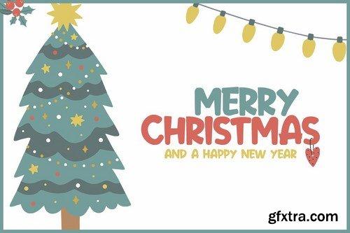 CM - Festive Cheer Font 4291233