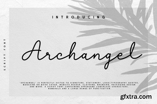 Archangel Monoline Script Font
