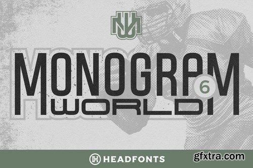 CM - Monogram World Sport Monogram Font 4289788