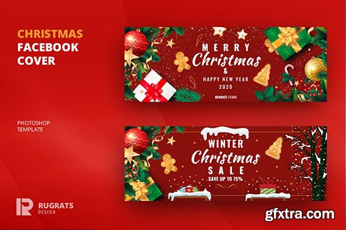 Christmas R1 Facebook Cover & Banner