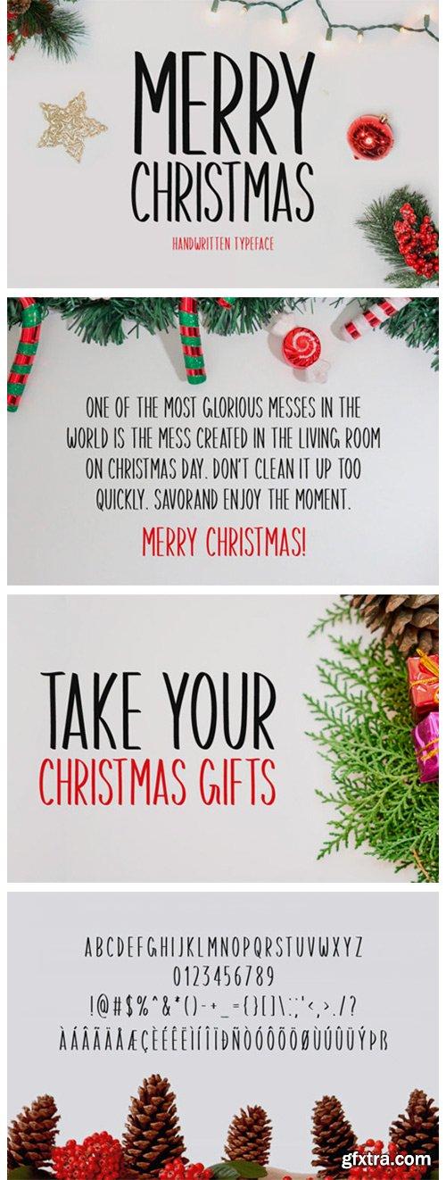 Merry Christmas Font