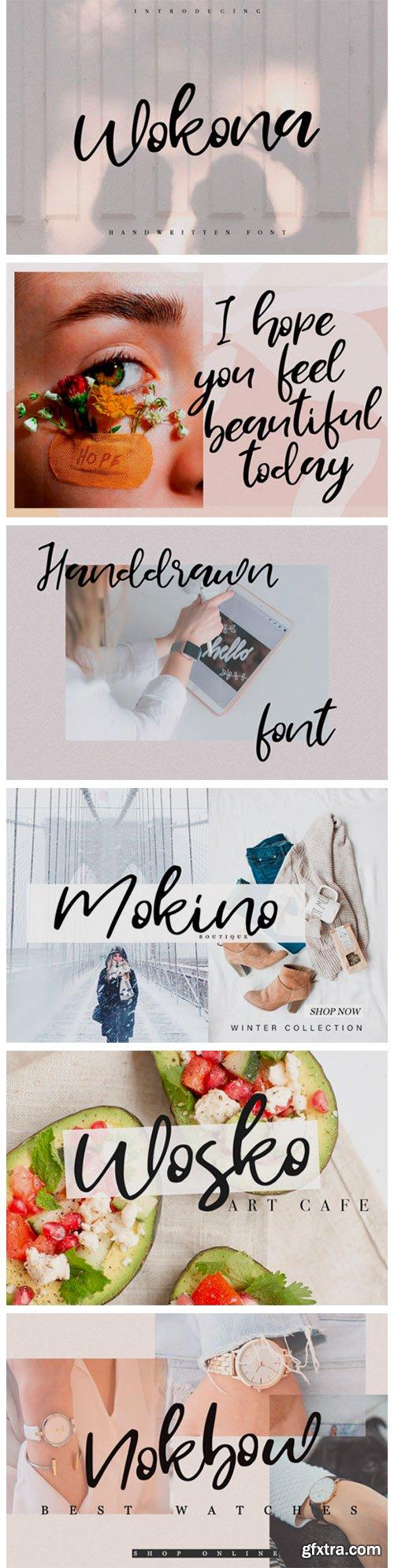 Wokona Font