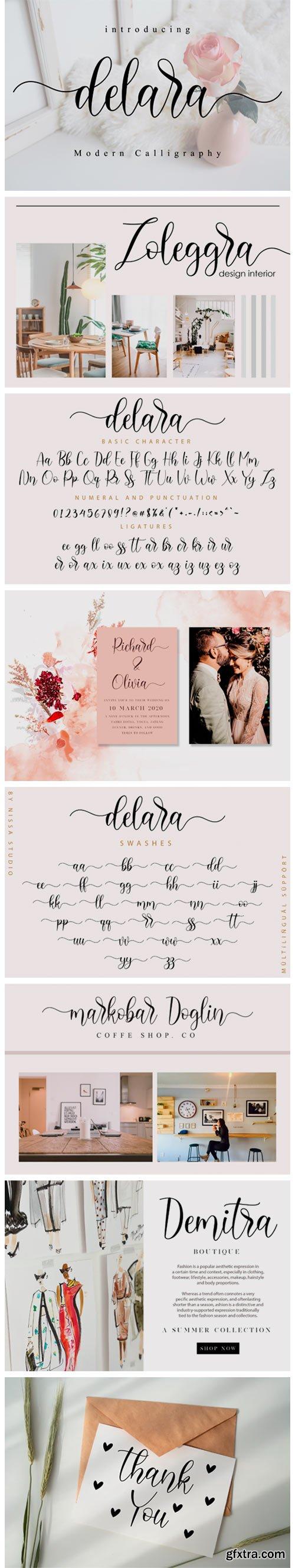Delara Font