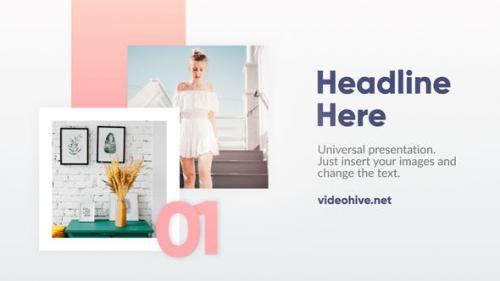Videohive - Minimal Slideshow