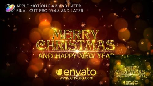 Videohive - Merry Christmas Wishes - Apple Motion