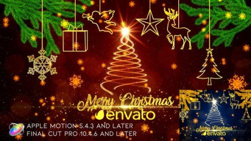 Videohive - Christmas Wishes - Apple Motion