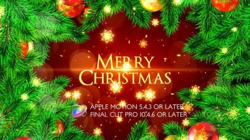 Videohive - Merry Christmas Opener - Apple Motion