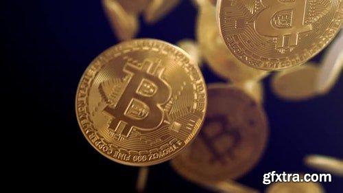 MotionArray Bitcoin Logo 323084