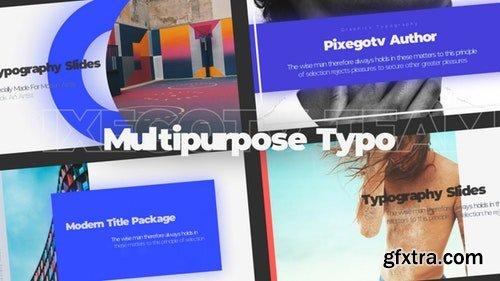 MotionArray Multipurpose Typo / Slideshow 323004