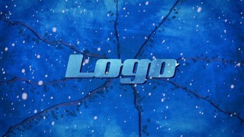 Videohive - Winter Ice Logo