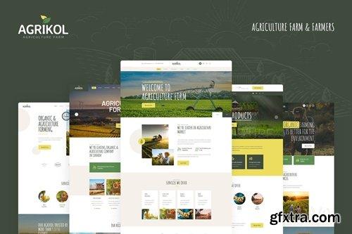 Agrikol - PSD Template For Agriculture Farm