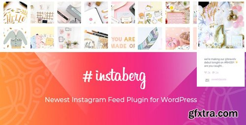 CodeCanyon - Instaberg v1.0 - Instagram Feed Gallery - Gutenberg Block - 25063592