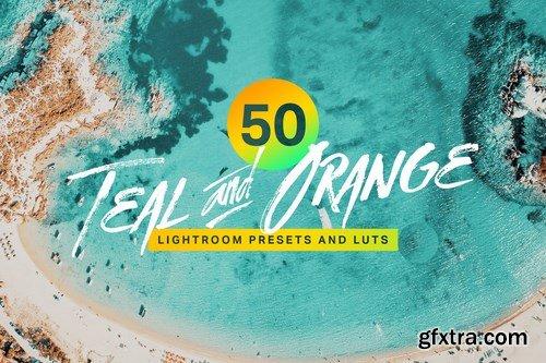 CM - 50 Teal and Orange Lightroom Presets and LUTs 4293517