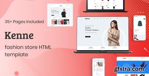 ThemeForest - Kenne v1.0.1 - Fashion Store HTML Template - 24981910